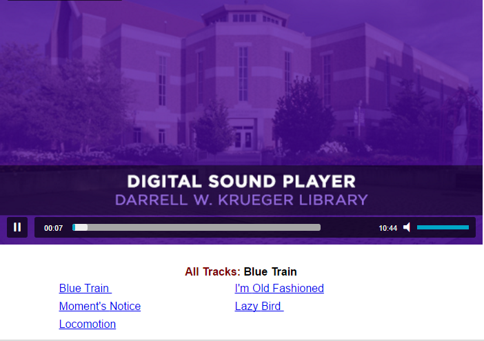 Digital Sound Player Image