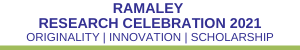 Ramaley Research Celebration 2021 Logo and Site Link