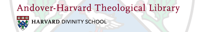 Andover-Harvard Theological Library logo