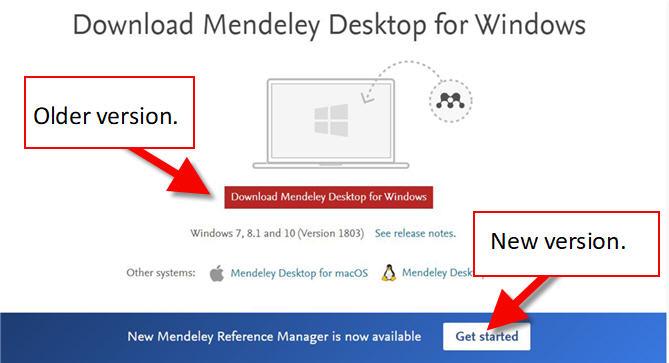 mendeley download screen