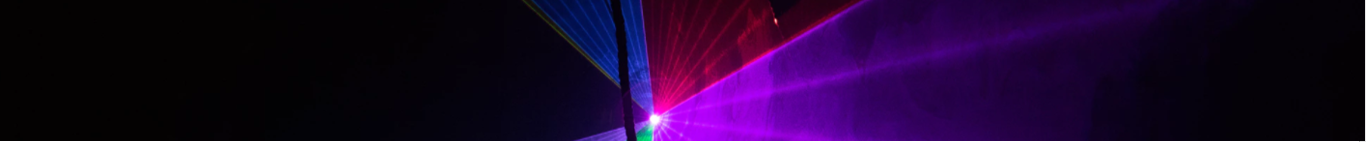picture of a laser show