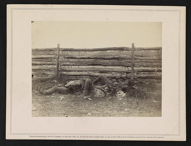 Killed at the Battle of Antietam