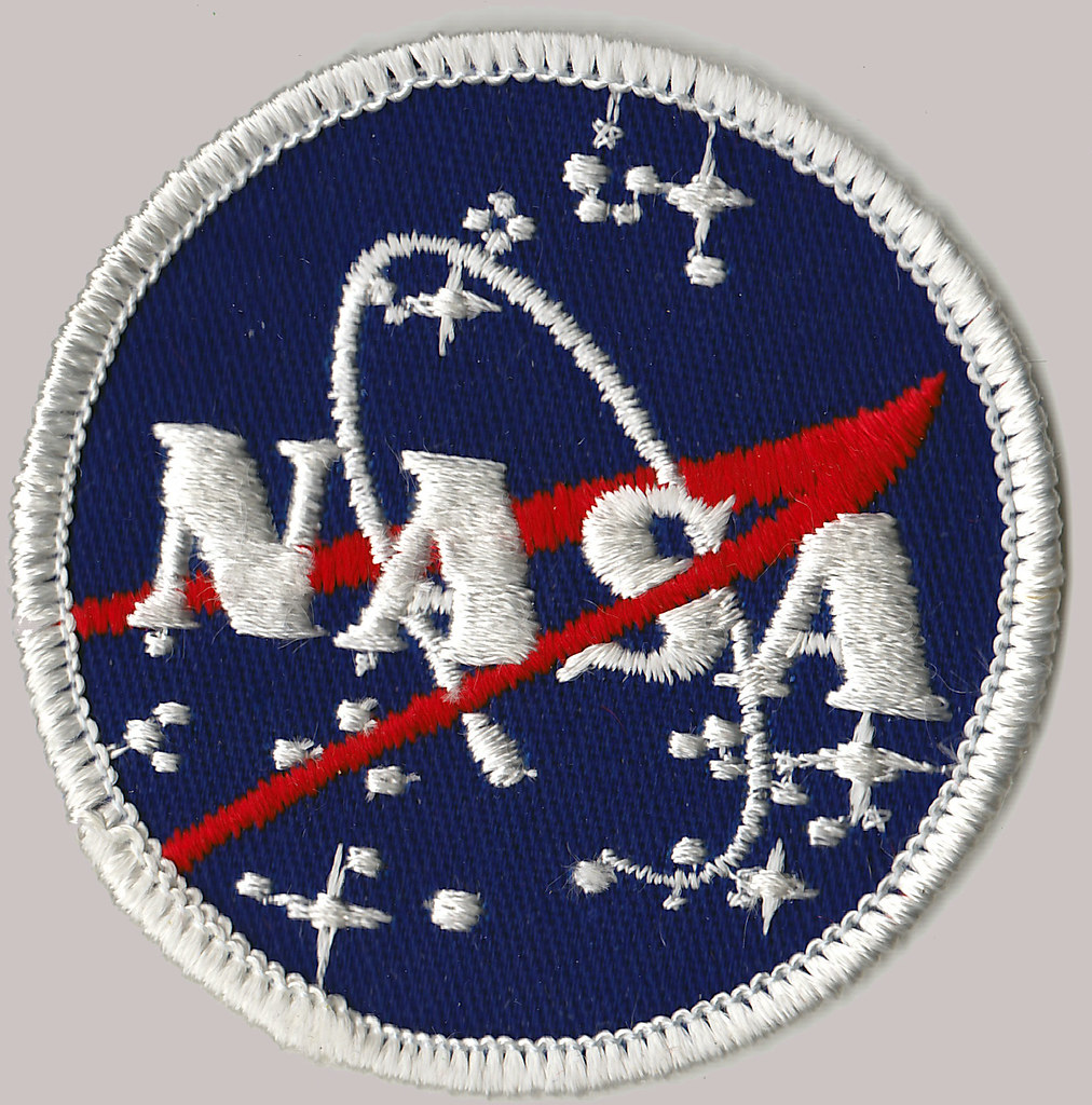 Photo of a NASA patch