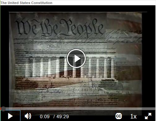"""FilmsOnDemand - """"The United States Constitution"""""""
