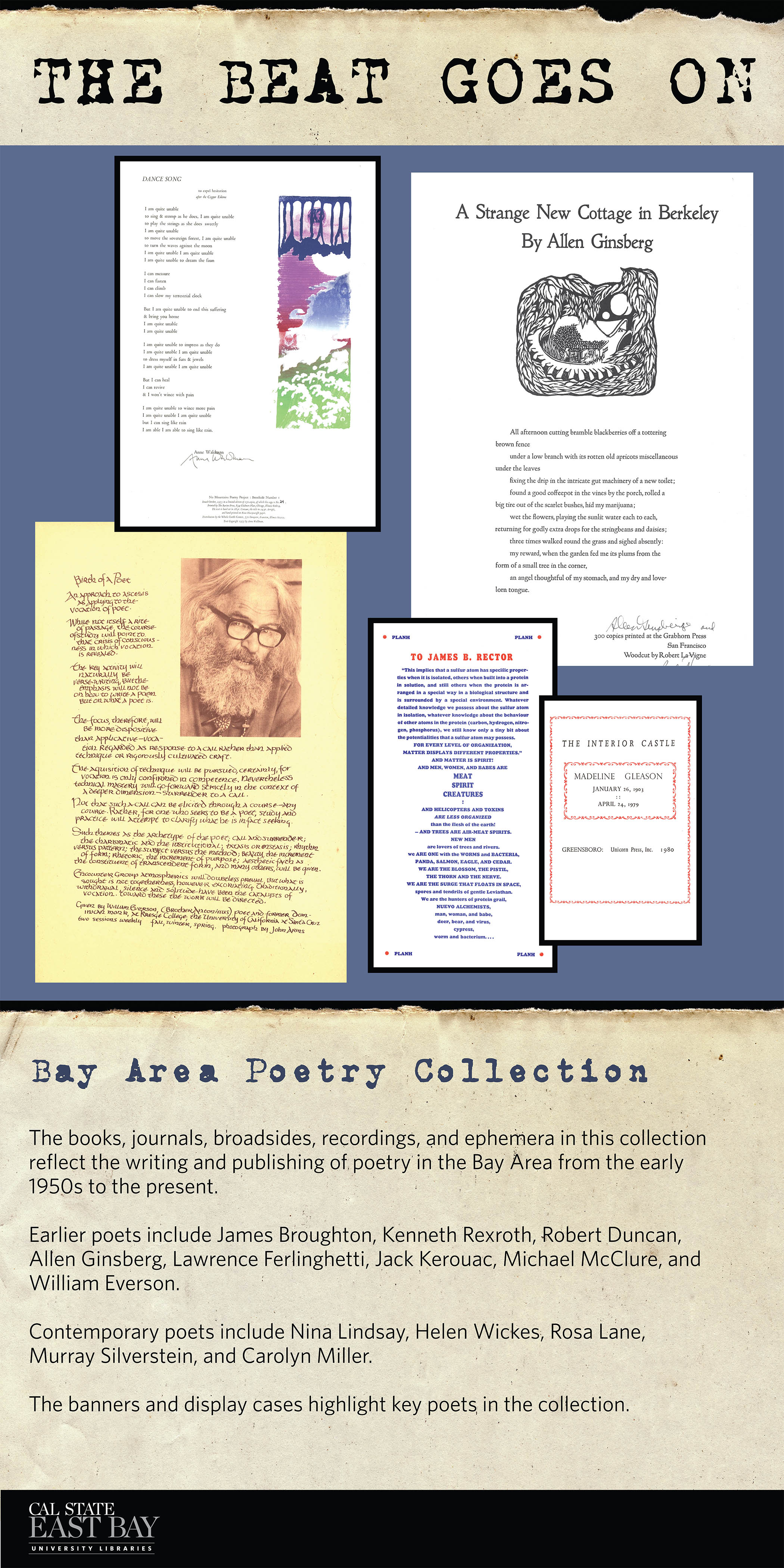 The Beat Goes On Poetry from Special Collections