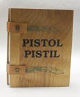 photograph of book, Pistol Pistil