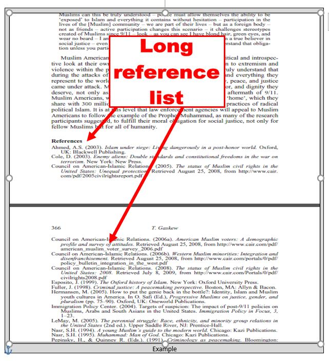 Scholarly article references