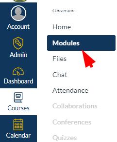 click modules