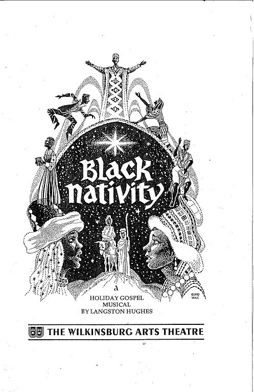 Black Nativity program, 1989