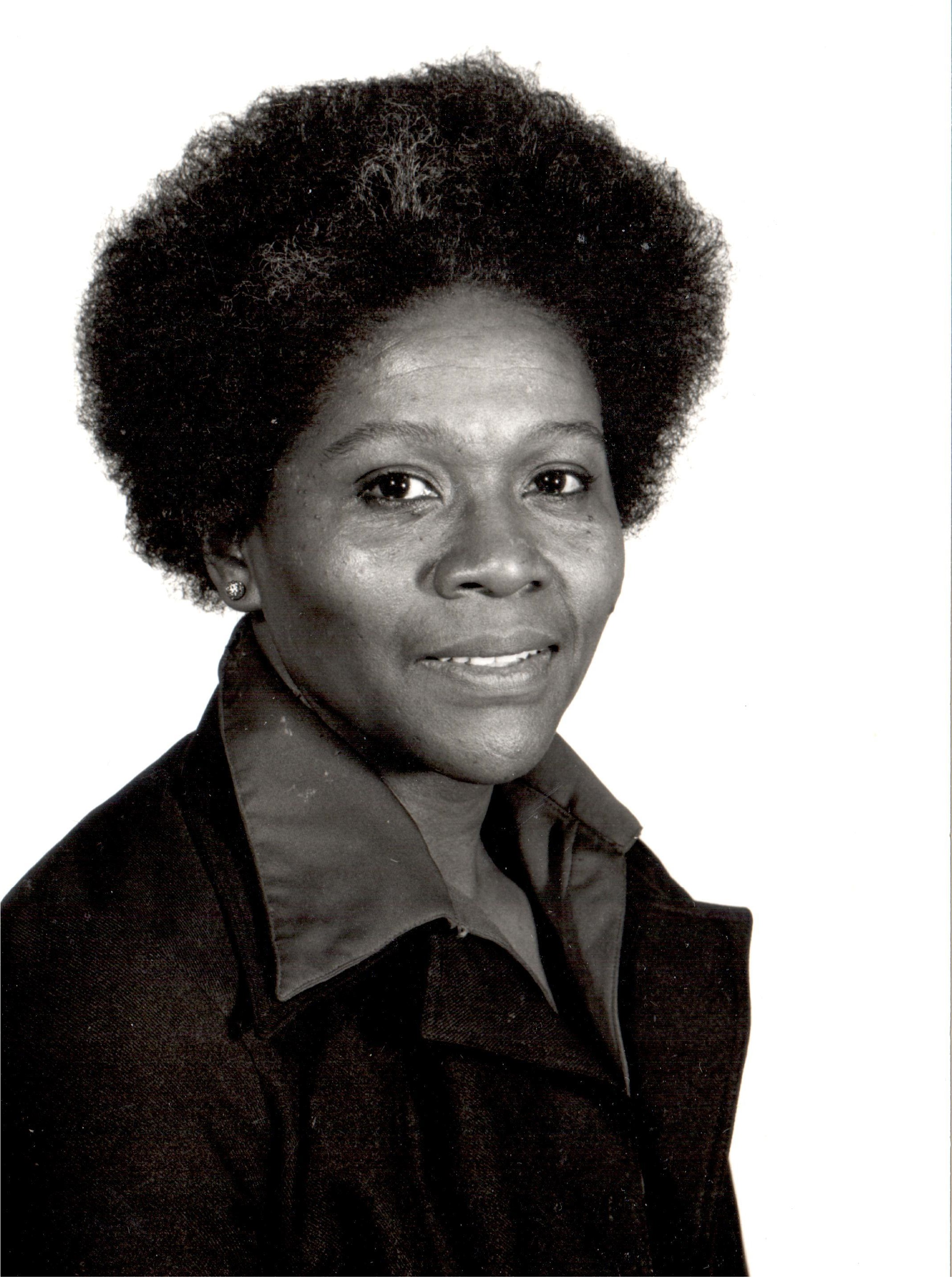 Headshot of Dr. Vernell Lillie circa 1975