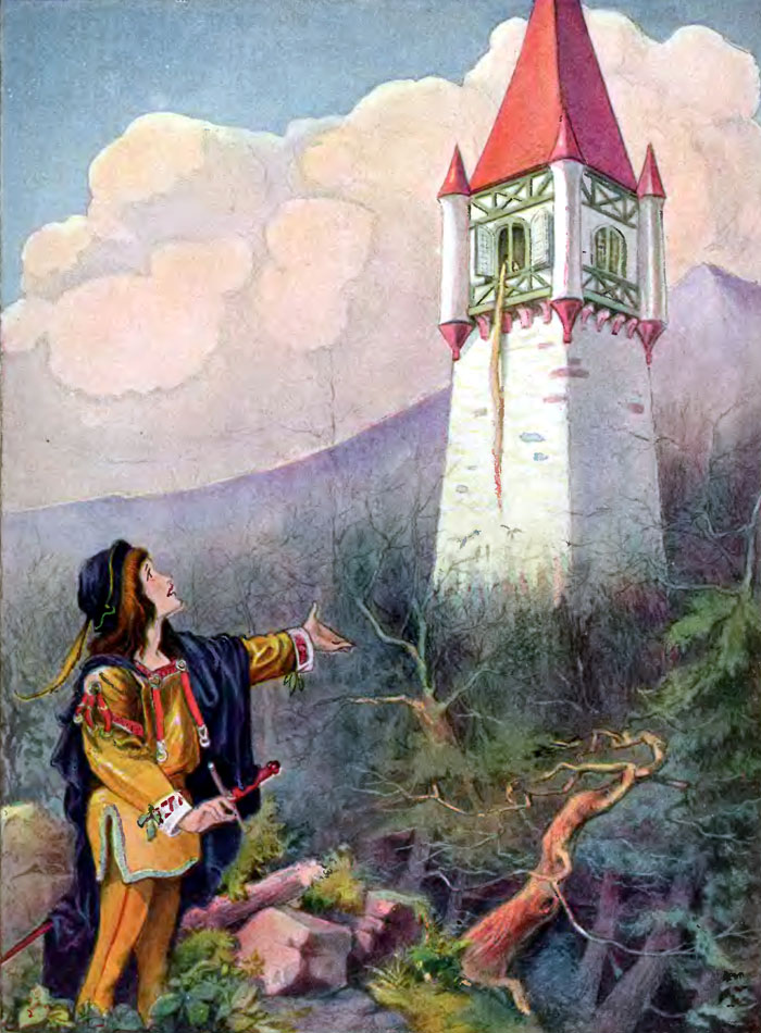 Rapunzel by John B Gruelle and R. Emmett Owen (1922)