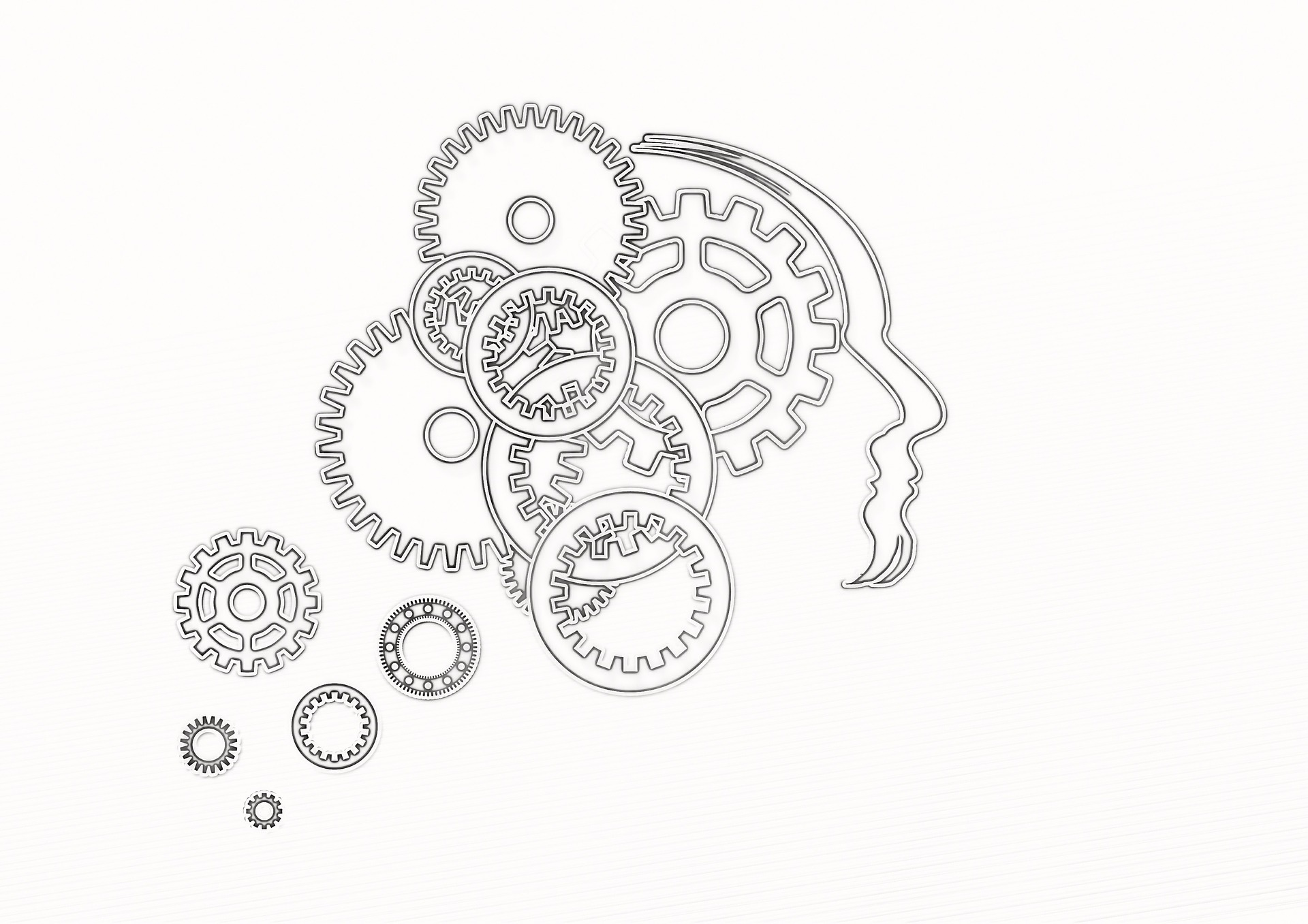 brain and gears image