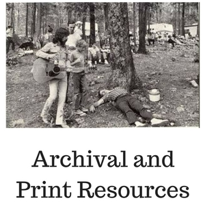 Festival Archival and Print Resources