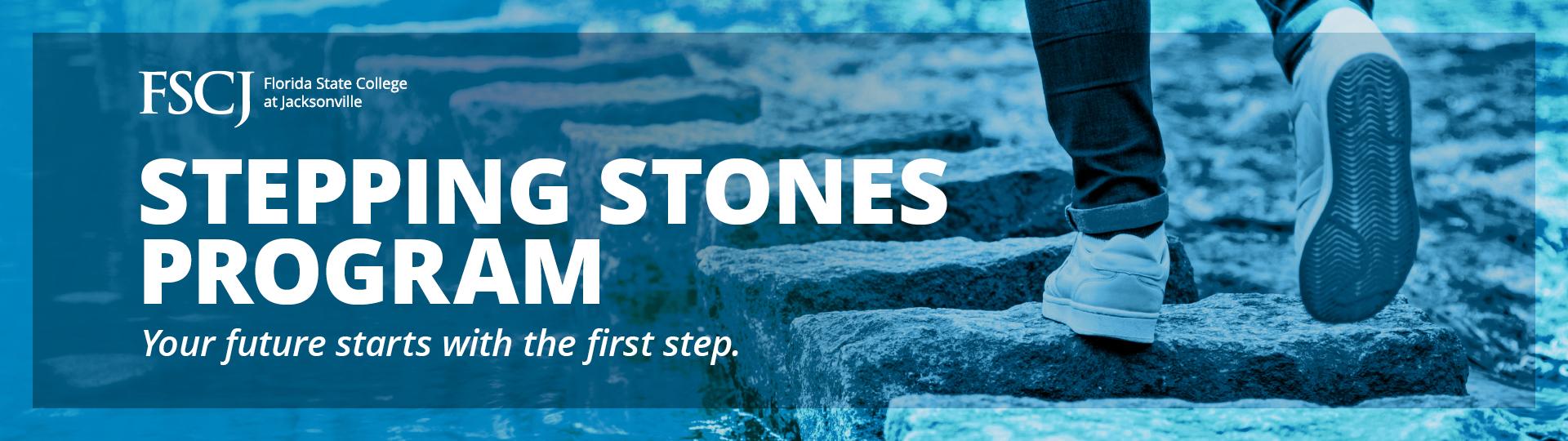 Stepping Stones program banner