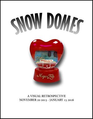 2015 Snow domes exhibit poster