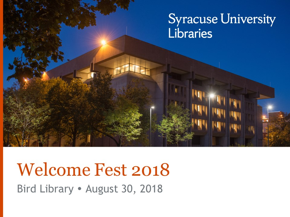 Welcome Fest 2018