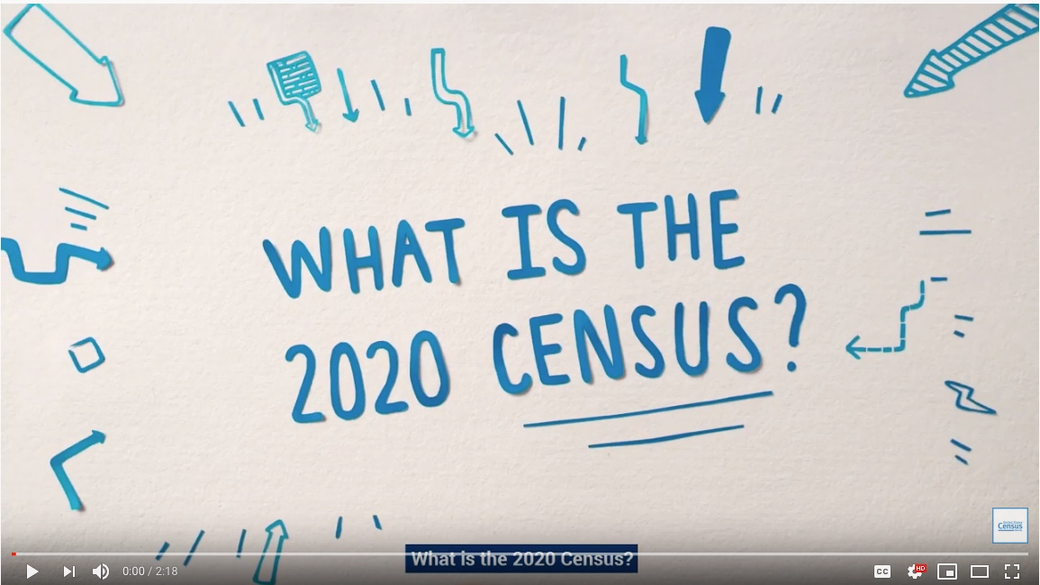 2020 Census YouTube video
