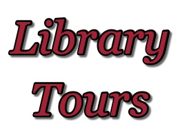 Library Tours advertisement