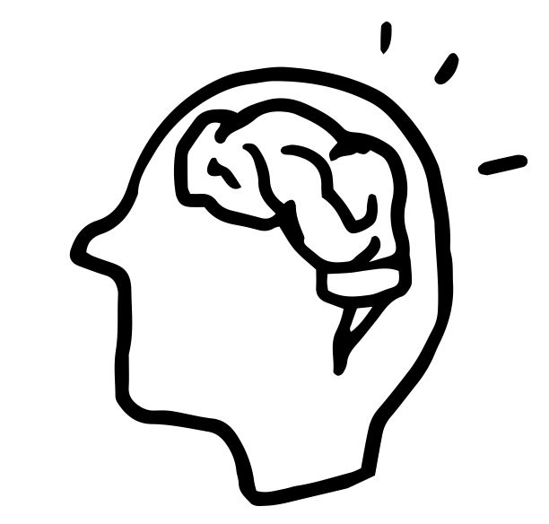 icon of a thinking brain