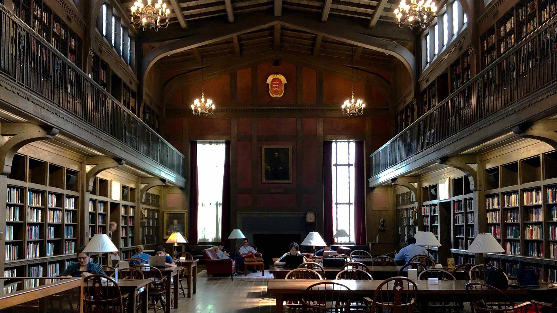 A photo of the Medical Historical Library.