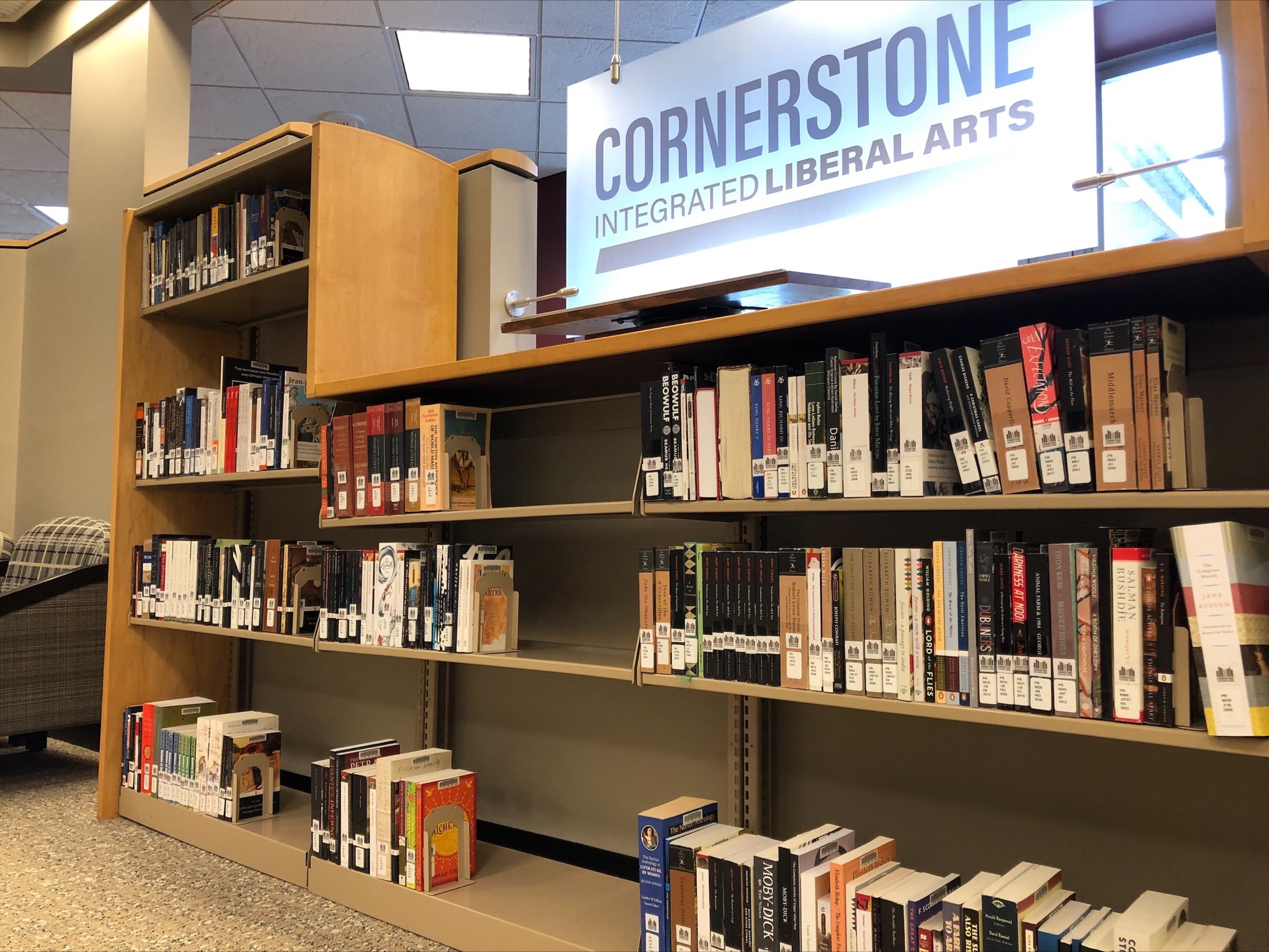cornerstone reading room collection