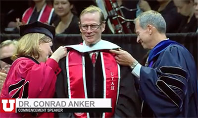 Commencement Ceremony Dr. Conrad Anker