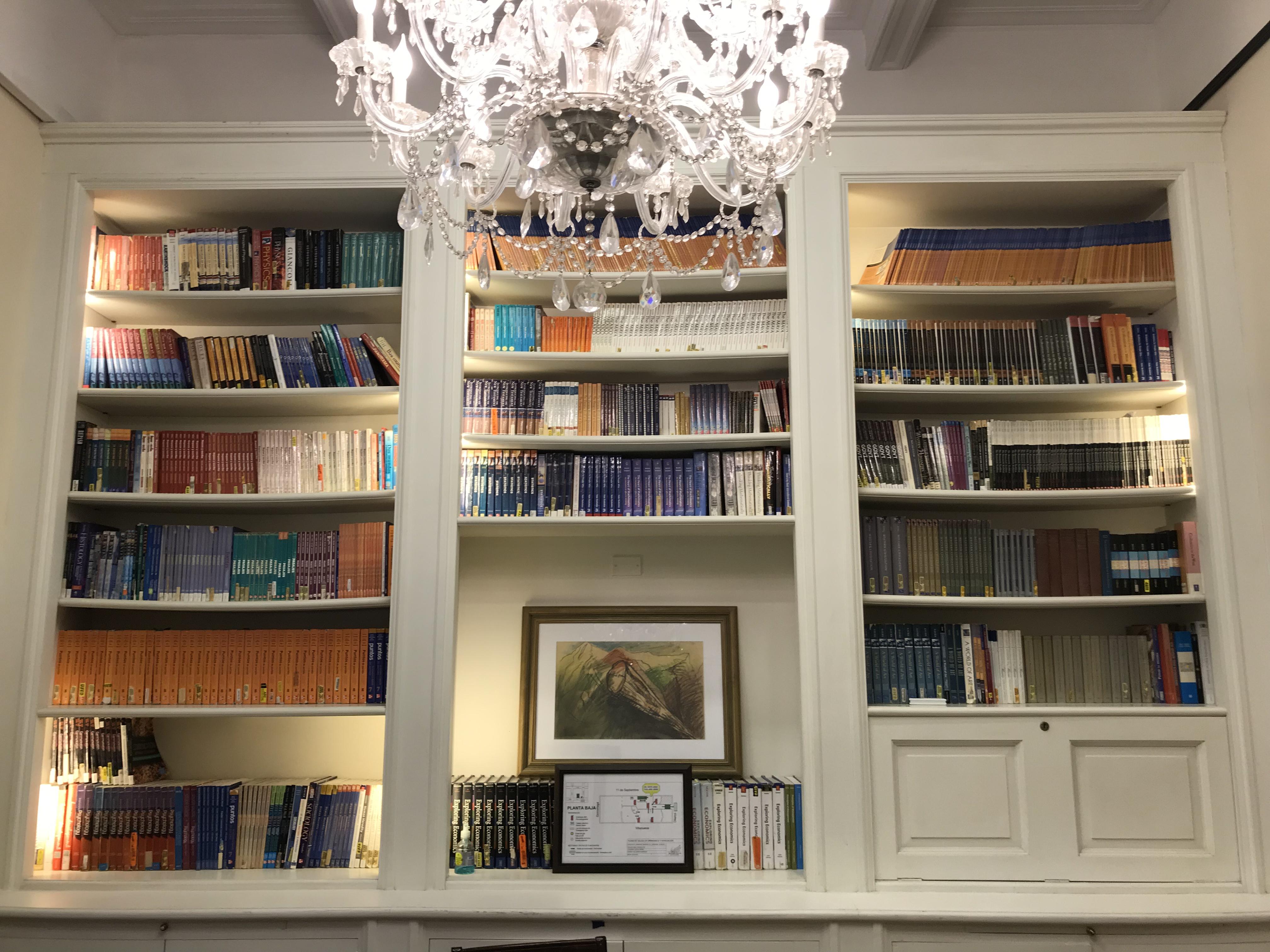 BA bookshelves