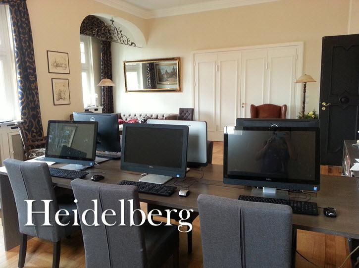 Heidelberg library interior