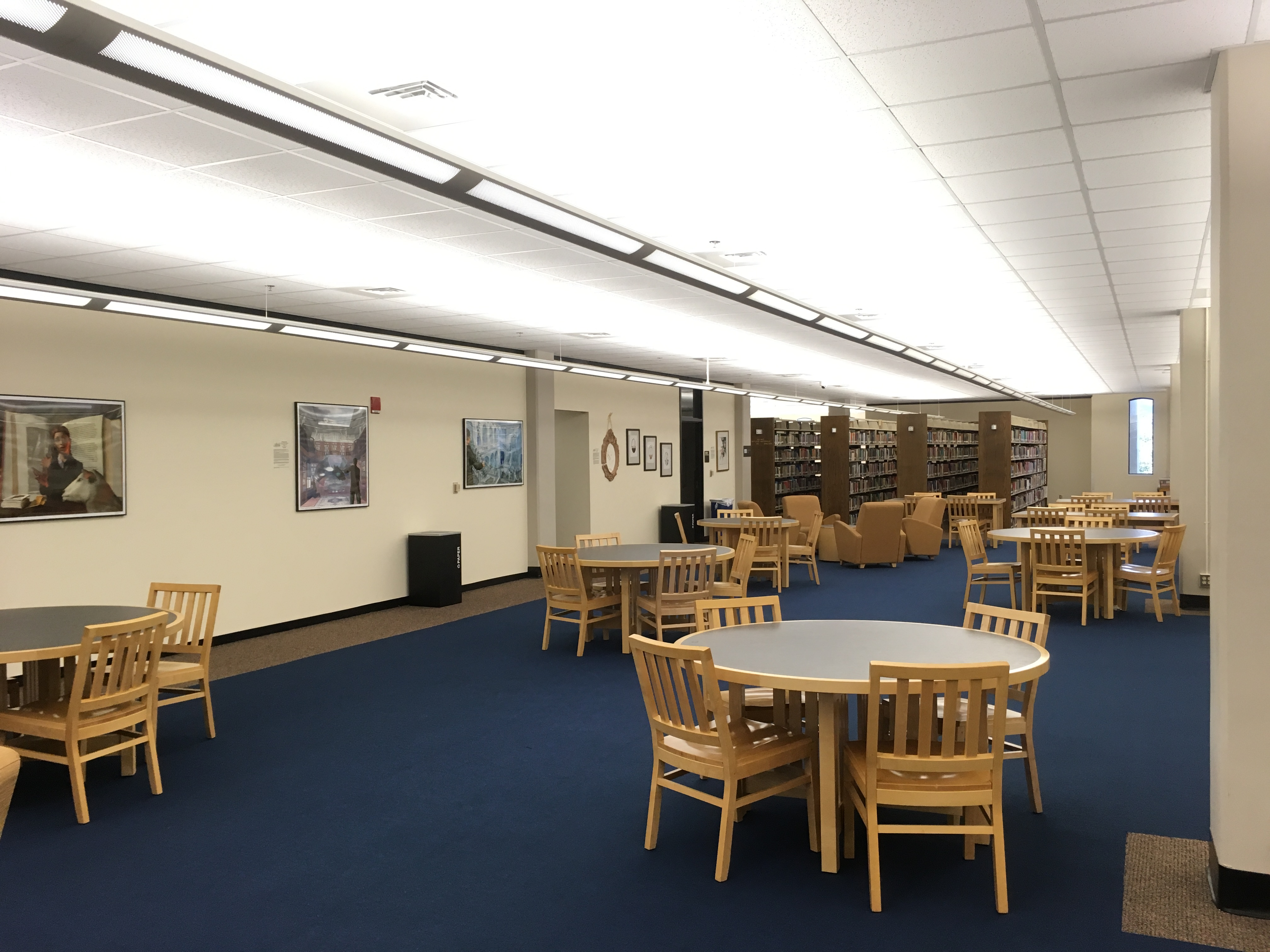 Study Space on the Third Floor