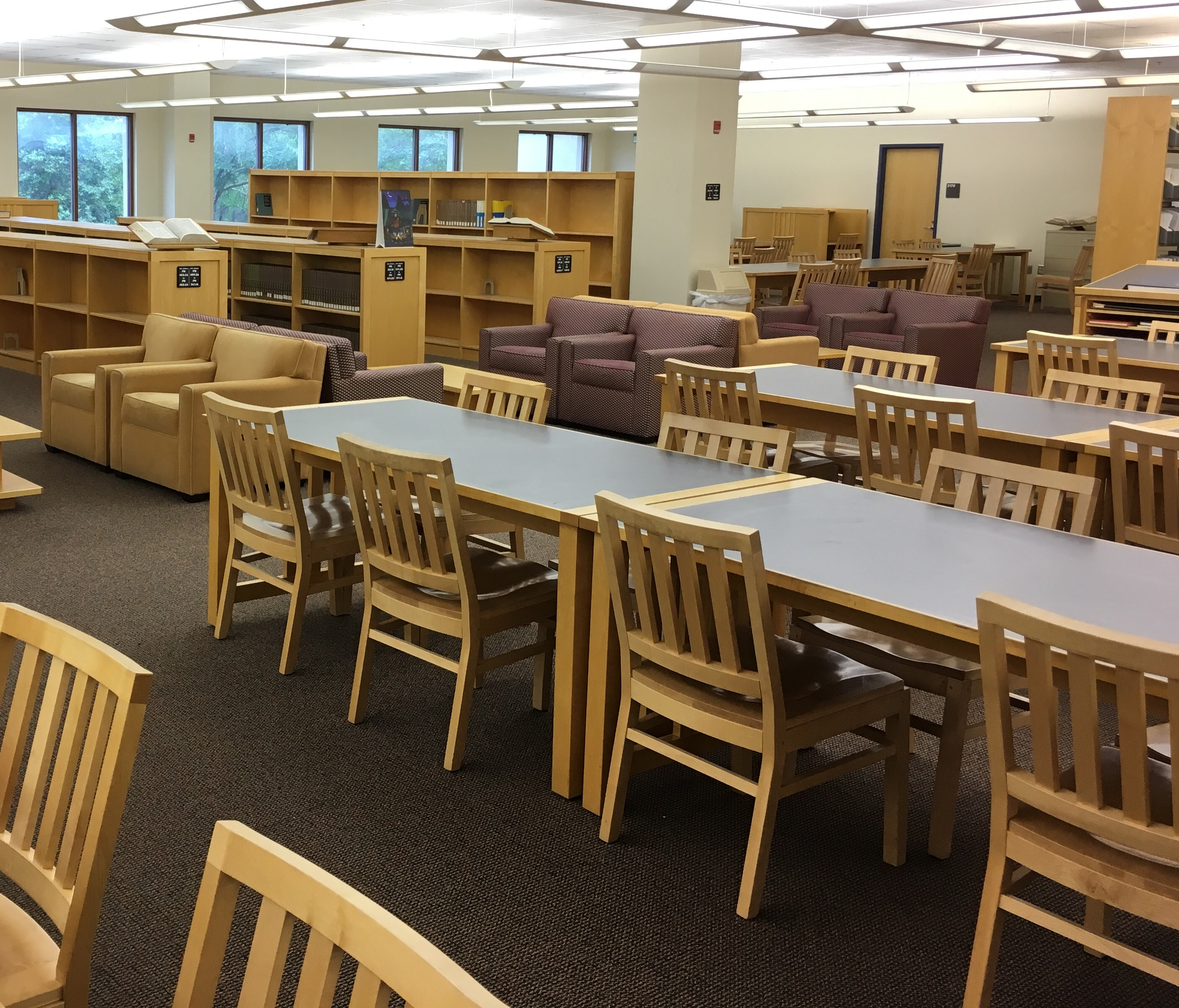 Study Space on the Second Floor