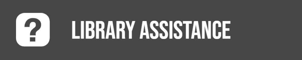 Question  mark Library Assistance