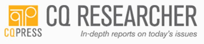 CQ Researcher Logo/Banner.