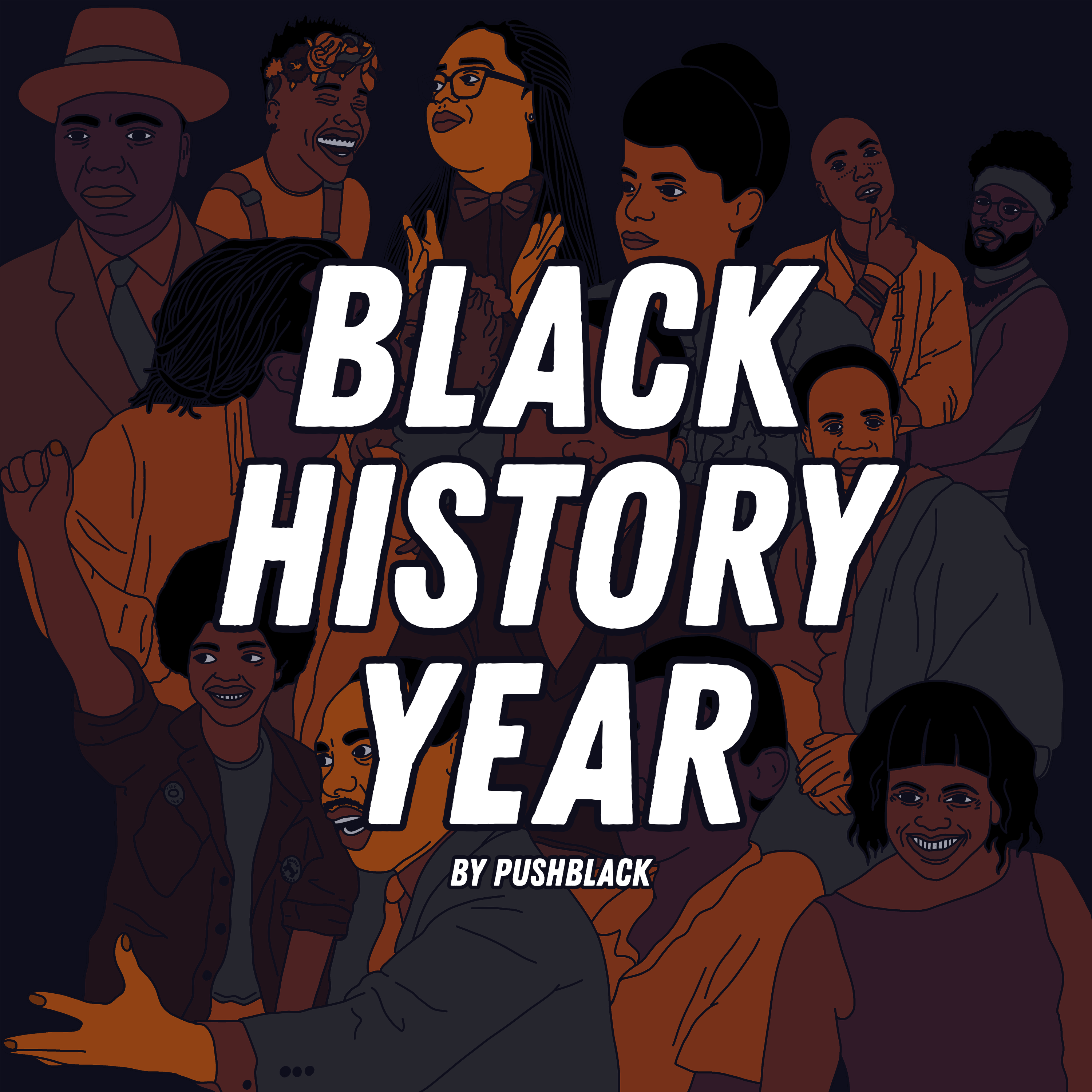 Black History Year Podcast Cover Art