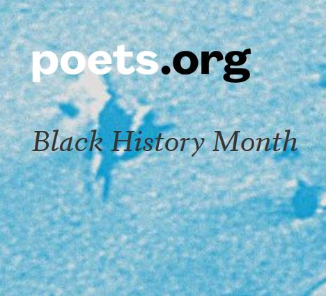Poets.org Black History Month Logo