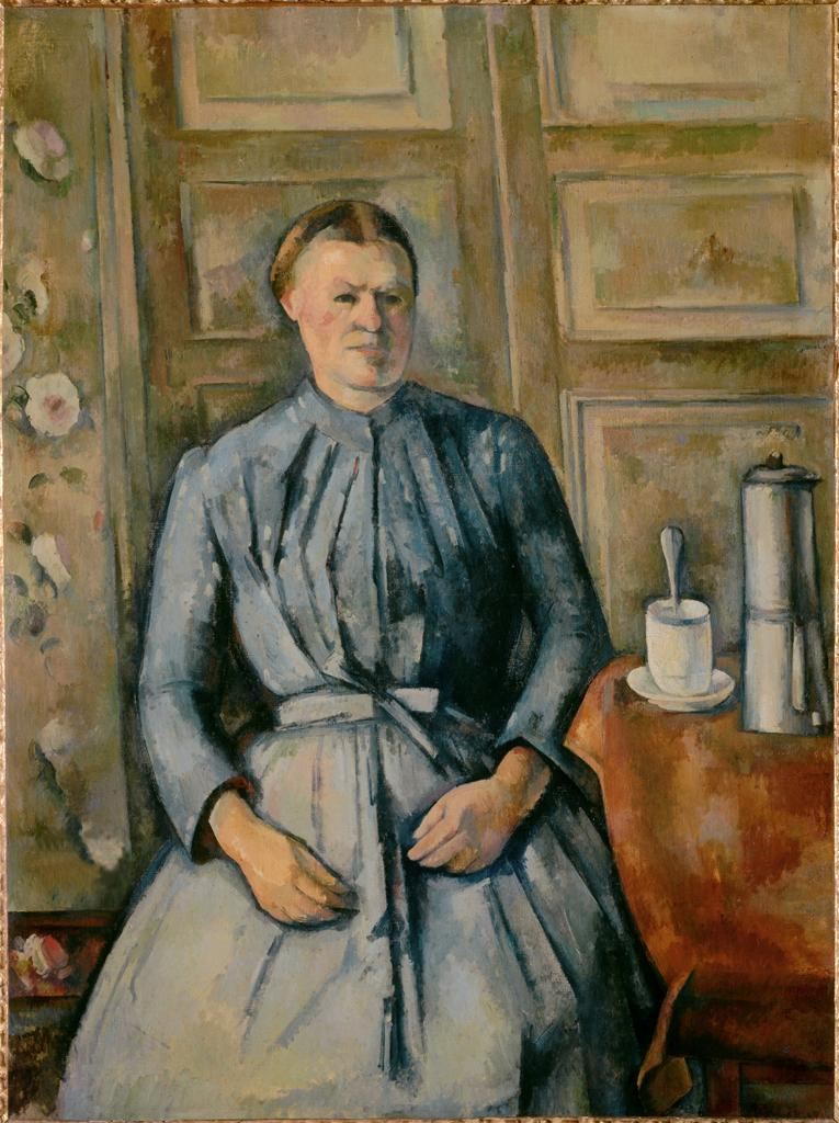 Woman with Coffeepot