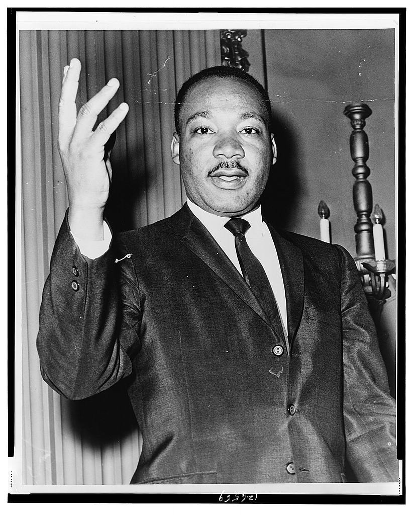 Martin Luther King, Jr. Portrait, Library of Congress, U.S.