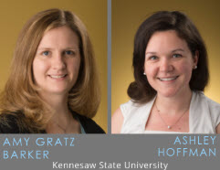 Amy Gratz Barker and Ashley Hoffman: Kennesaw State University