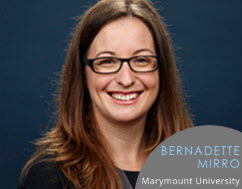 Bernadette Mirro: Marymount University