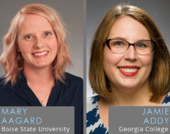 Mary Aagard & Jamie Addy: Boise State University and Georgia College