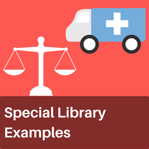 special library examples