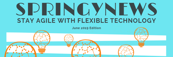 SpringyNews: Stay Agile with Flexible Technology June 2019 Edition