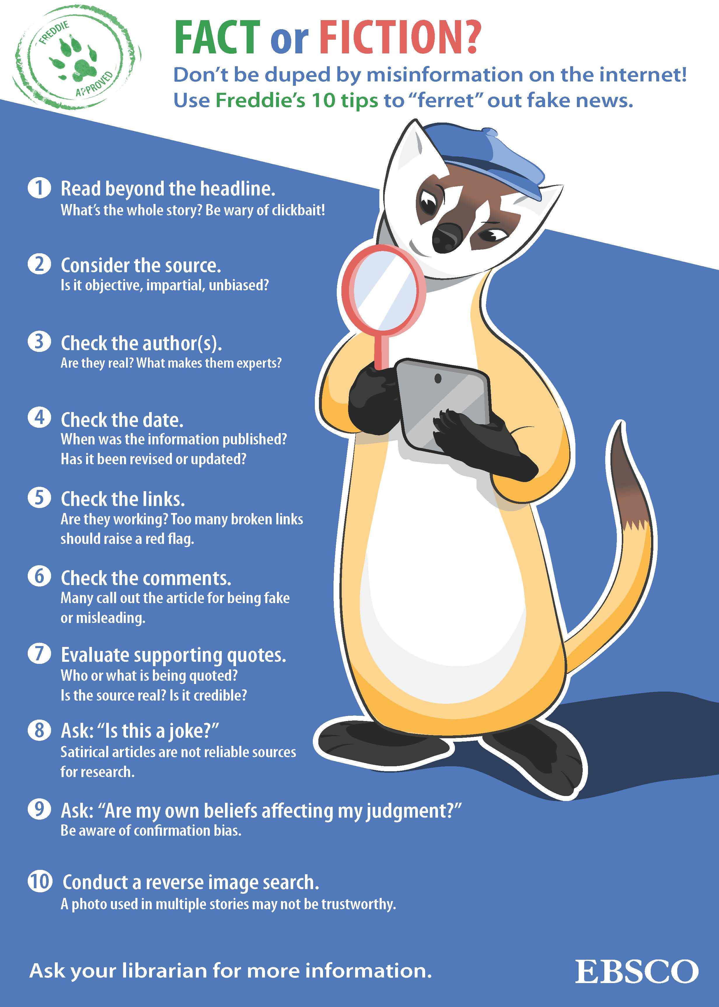 Ferret Out Fake News (EBSCO)