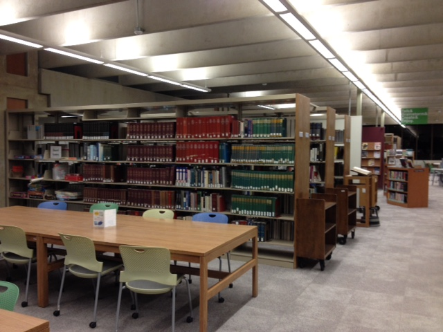 the reference section of the Van Wagenen Library at SUNY Cobleskill