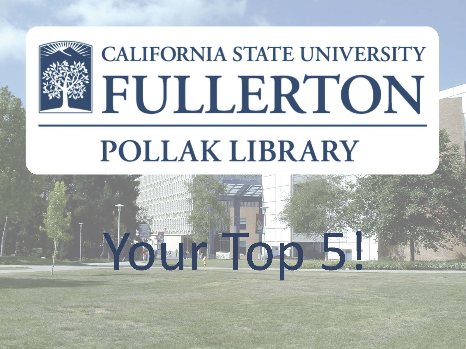 pollak library top five