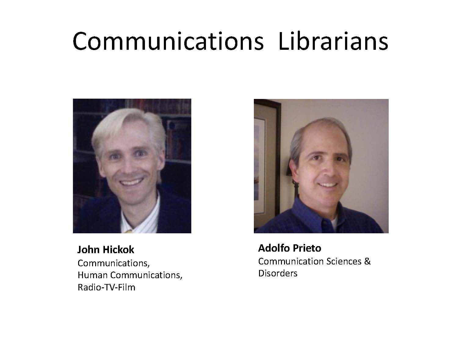 Communications Librarians