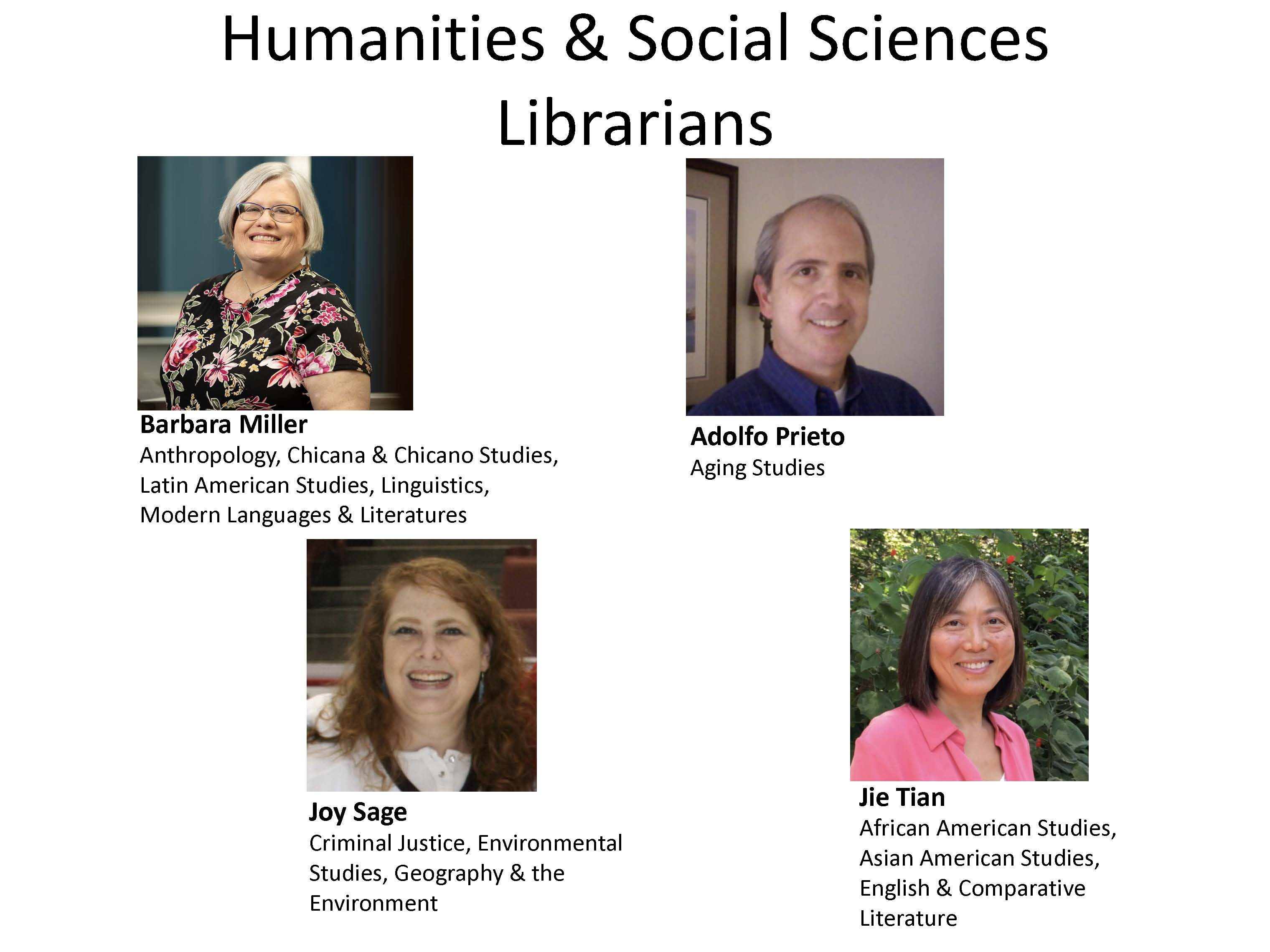 Humanities and Social Science Librarians