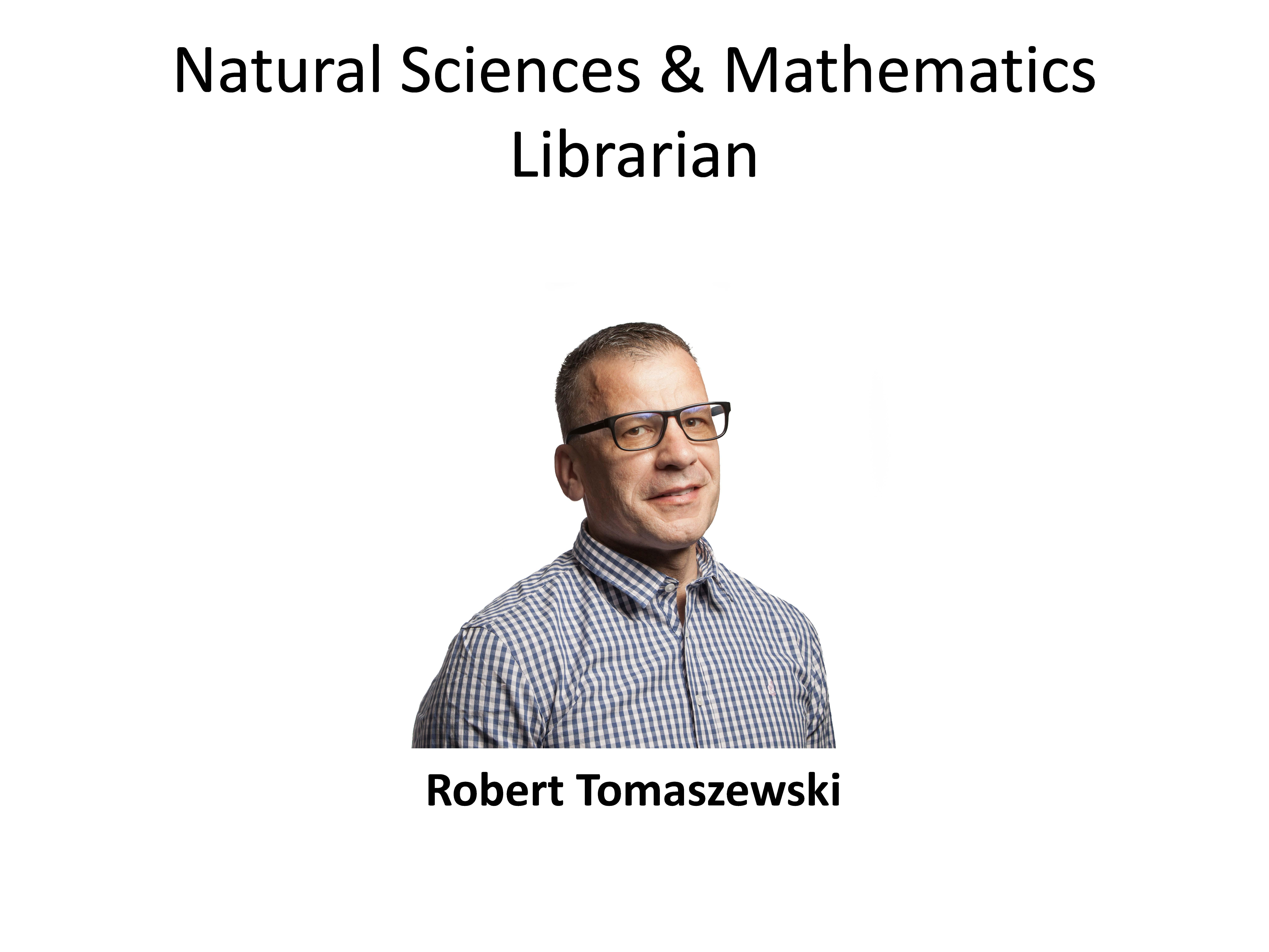 Natural Sciences and Mathematics Librarian