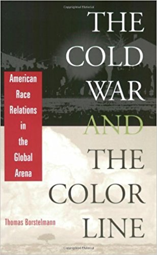 book cover for the cold war and the color line