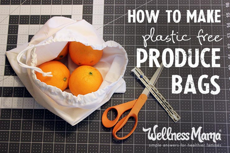 Sew your own Reusable Produce Bag!