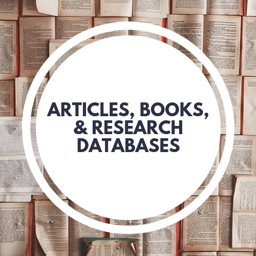 Link to Articles, Books, Research Databases